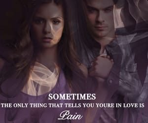 love quotes, pain, and tvd image