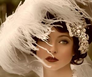 vintage, white, and beauty image