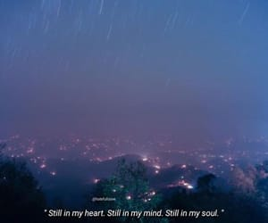 night, quotes, and sky image