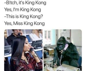 king kong, nicki, and nicki minaj image