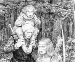 art, game, and the witcher image