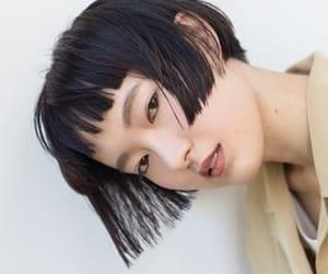 asian, cute, and bangs image