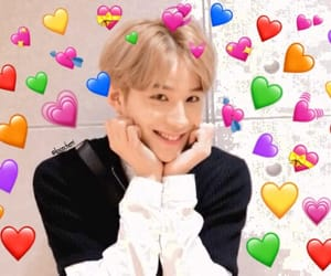 heart, nctdream, and heart meme image