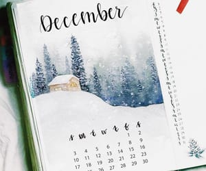 december, holidays, and planner image
