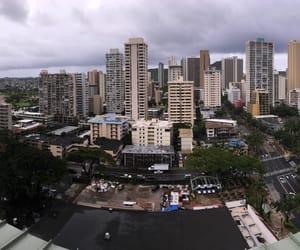 city, hawaii, and Oahu image