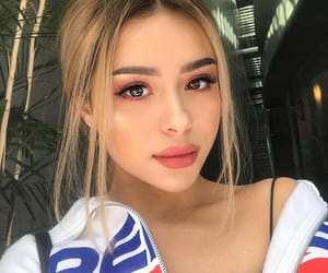 beautiful lady, pretty girl girls, and makeup goals image