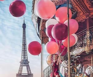 amazing, balloons, and paris image