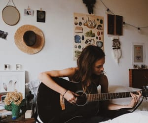 guitar, photography, and tumblr image