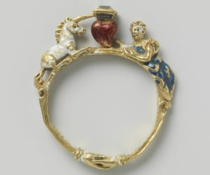 angel, ring, and art image