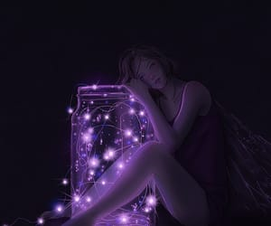 girl and lights image