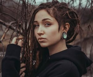 dreadlocks, dreads, and witch image