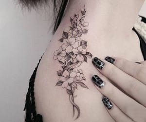 flores, idea, and tatto image