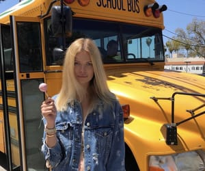 california, school bus, and model image