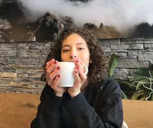 coffee, girl, and starbucks image
