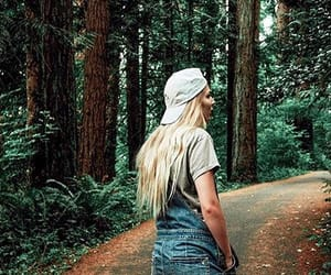 aesthetic, nature, and blonde image