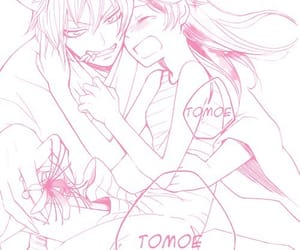 manga, couple, and pink image