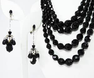 beaded necklace, thejewelseeker, and necklace earring set image