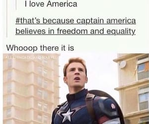 america, Avengers, and captain america image