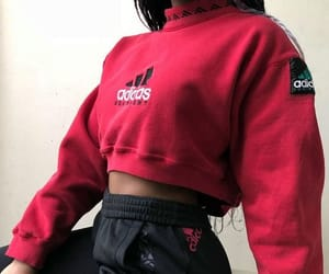 adidas, blouse, and body image