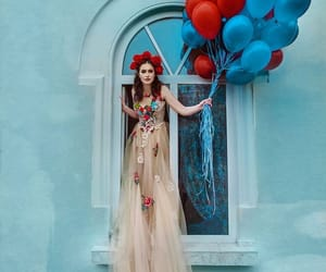 photography, balloons, and dress image