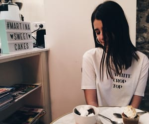 cafe, coffee, and cupcake image