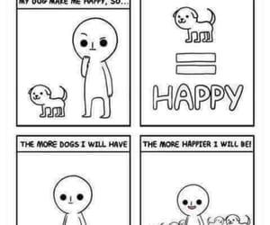 dog, comics, and drawings image