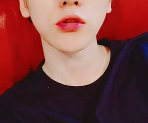 exo, filter, and lips red image