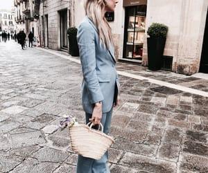 fashion, vogue, and blue image