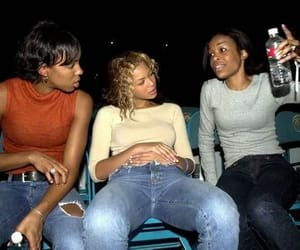 destiny's child, michelle williams, and kelly rowland image