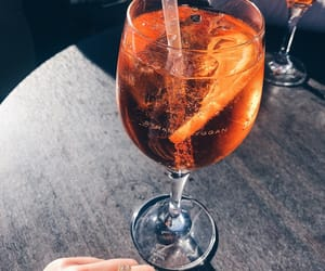 drink, stockholm, and aperol image