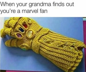 funny, Marvel, and lol image