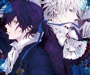 pandora hearts, anime, and gilbert nightray image