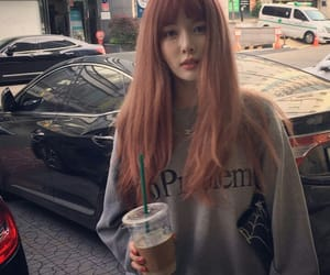 aesthetic, girl, and k-pop image