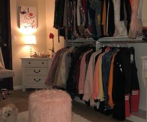 closet and light image