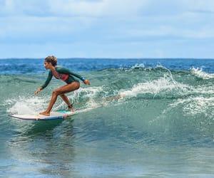 Aloha, blue, and girl image