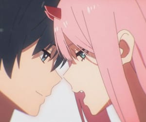darling in the franxx, anime, and hiro image