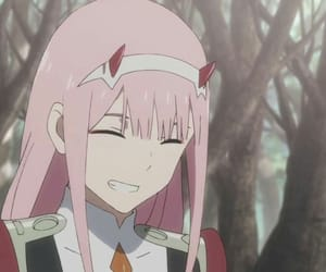 darling in the franxx and zero two image