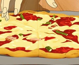 gif, food, and pizza image
