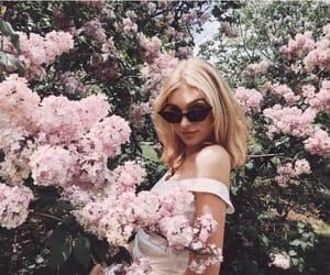 elsa hosk, flowers, and model image