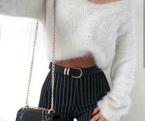 beautiful, black, and clothing image