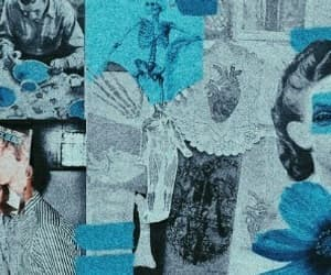 header, blue, and aesthetic image