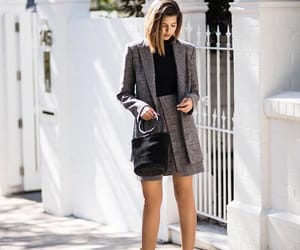 blazer, fashion, and look image