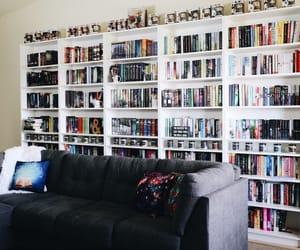 bibliophile, book, and bookshelf image
