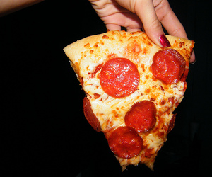 pizza, photography, and delicious image