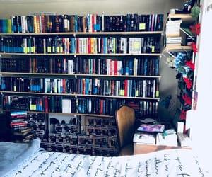 bookshelves, booklover, and booknerd image