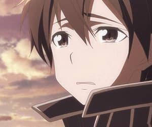 anime, kirito, and sword art online image