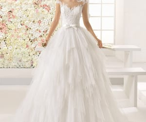 dresses, wedding dress, and wedding image