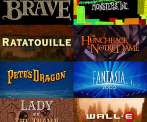 brave, fantasia 2000, and movies image