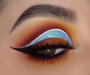 eye, makeup, and maquillage image