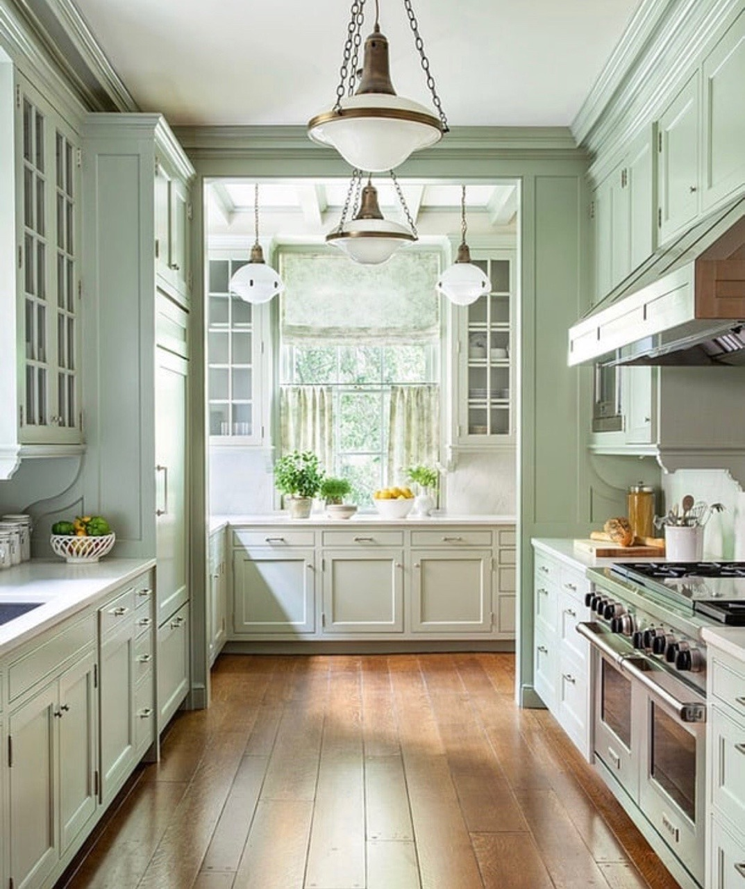 Contemporary Farmhouse Kitchen Http Inspiredlivingspaces
